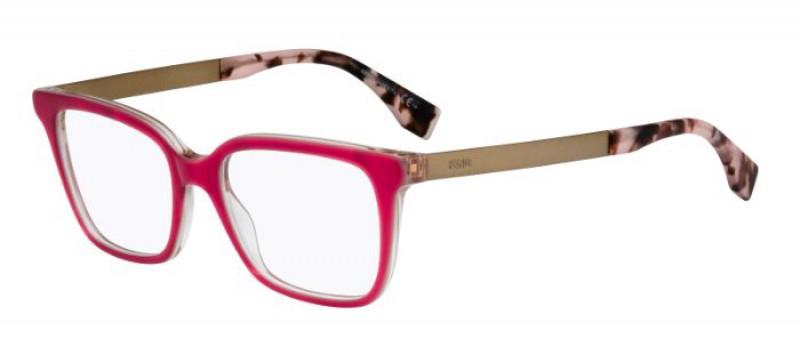 49871f416 Compra online Gafas graduadas Fendi Logo 0077 E17 en MisGafasDeSol