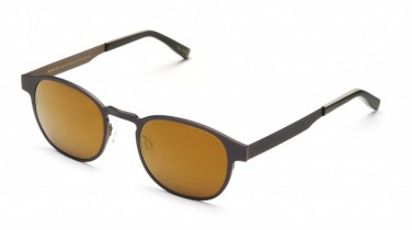Moscot LEMTOSH-T NAVY BEIGE GOLD FLASH