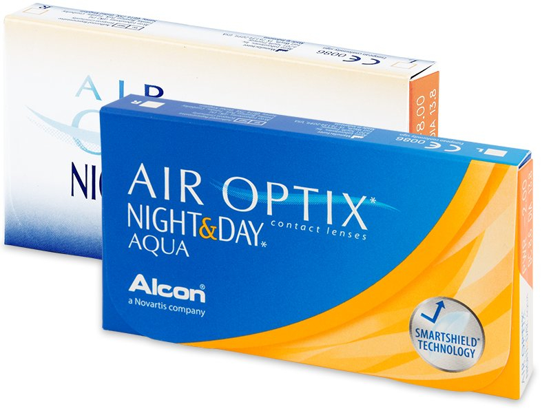 Alcon Air Optix Aqua Night & Day (6 Lentillas)