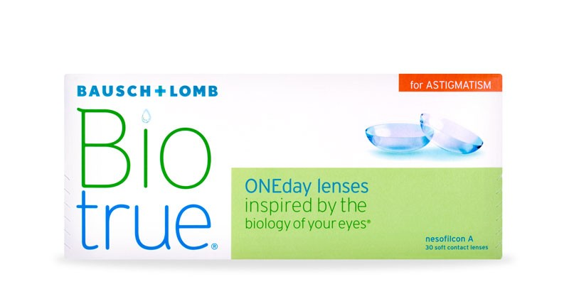 Bausch + Lomb Biotrue ONEday For Astigmatism (30 Lentillas)